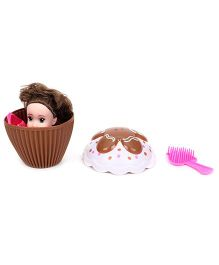 Cupcake Surprise Doll With Hairbrush (Color May Vary)