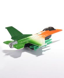 Centy F 16 Fire Blade Toy Tri Color - Orange White Green