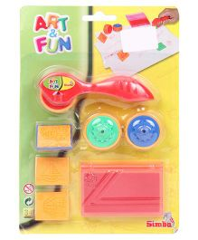 Simba Art And Fun Stempel Roller Red - 8 Pieces