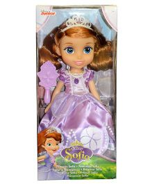 Disney Sofia The First Doll With Accessories Purple - 30 cm