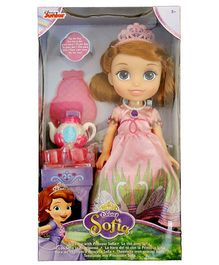 Disney Sofia The First Doll With Accessories Pink - 30 cm