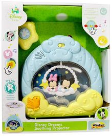 Disney Dreams Soothing Projector - Blue Yellow