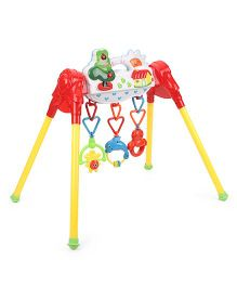 Baby Activity Play Gym - Red & Yellow