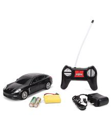 Mitashi Dash Remote Controlled Panamera Turbo Porsche Toy Car - Black