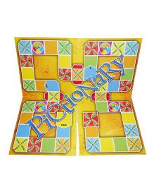 Emob Picture Stationary Board Game - Yellow
