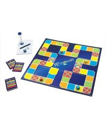 Emob Picture Stationary Board Game - Blue