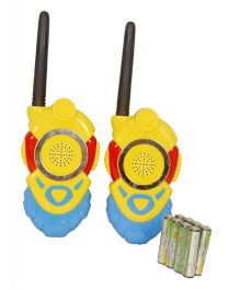 Emob Minion Walkie Talkie Set With Batteries - Yellow