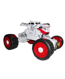 Emob Radio Control Tigers Brave Heart Rock Climbing Four Wheel Car - Red Silver