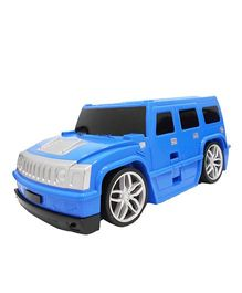 Emob Hummer Car Shape Travel Trolley Bag - Blue