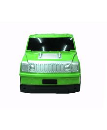 Emob Hummer Car Shape Travel Trolley Bag - Green