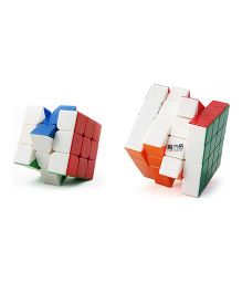 Emob Magic Rubik Cube Puzzle Combo Pack Of 2 - Multicolor