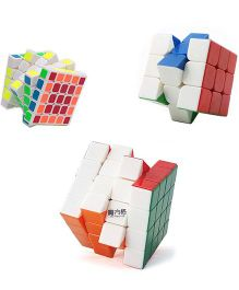 Emob Rubik Cube Pack Of 3 - Multicolor