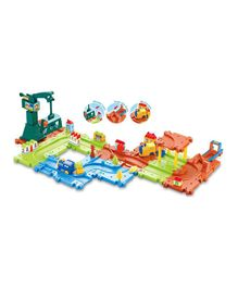 Webby City Construction 01 Train Set Multi Color - 30 pieces