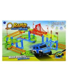 Saffire Rapid Variety Track Set Multi Color - 73 pieces
