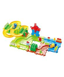 Saffire Happy Valley 08 Train Set with Windmill - Multi Color