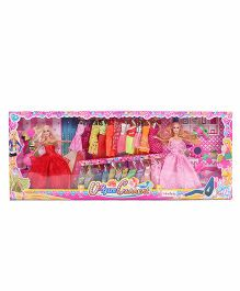 Baby Fashion Doll With Accessories Multicolor - 28 cm