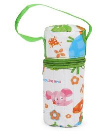 Morisons Baby Dreams Feeding Bottle Cover - Green