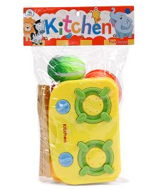 Smiles Creation Vegetable Set Toy (Color May Vary)