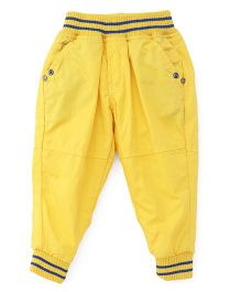 Olio Kids Full Length Pants - Yellow
