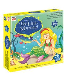 Braino Kids My Fairy Puzzle The Little Mermaid - 26 Pieces