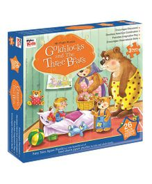 Braino Kids My Fairy Puzzle Goldilocks And The Three Bears  - 26 Pieces