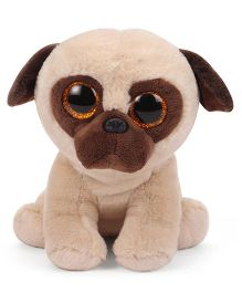 Keel Sparkle Eye Puppy Soft Toy Cream Brown - 25 cm