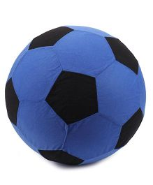 Hamleys Football With Air Pump - Blue