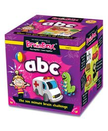 Green Board BrainBox ABC - Multicolor