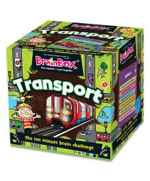 Green Board BrainBox Transport Card Game - Multicolor