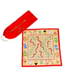 Desi Toys Snakes And Ladders - Multi Color