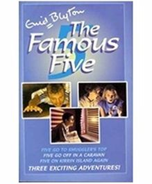 The Famous Five Books 4 to 6 - English