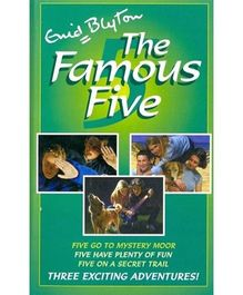 The Famous Five Books 13 to 15 - English