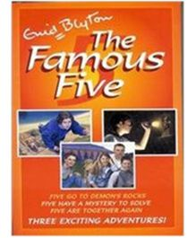 The Famous Five Books 19 to 21 - English