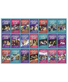 The Famous Five Complete Box Set of 21 Titles - English