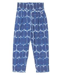 Pepe Jeans Full Length Casual Pants Printed - Dark Blue