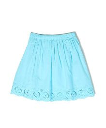 Pepe Jeans Embroidered Casual Skirt - Blue