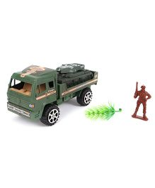 Grv Army Truck With Figure - Green