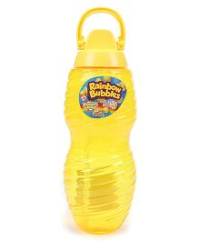 Comdaq Bubble Solution Bottle With Handle Yellow - 2000 ml
