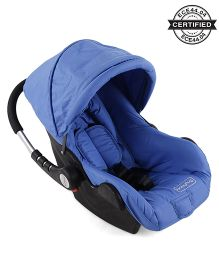 Babyhug Take Me Along Car Seat Cum Carry Cot With Rocker - Blue
