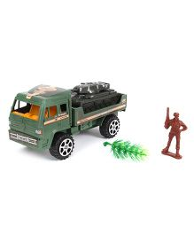 Grv Army Truck With Tank - Green