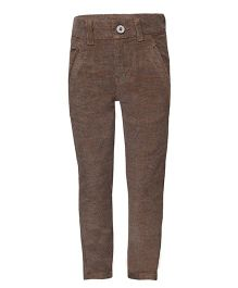 Tales & Stories Full Length Trousers - Brown