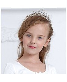 Angel Closet Crown Tiara Princess Hairband - Silver