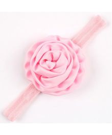 Angel Closet Beautiful Rosette Headband - Pink