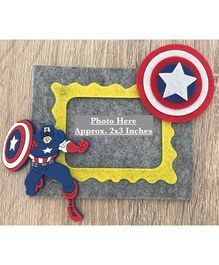 Kalacaree Cartoon Theme Magnetic Photo Frame - Grey