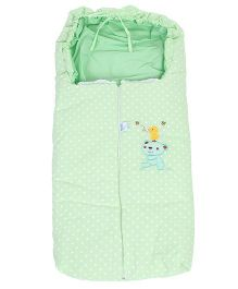 Montaly Sleeping Bag Bear Print - Green