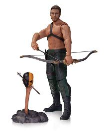 Arrow TV Oliver Queen & Totem Action Figure Brown & Black Height - 17 cm