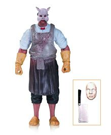Batman Arkham Knight Professor PYG Action Figure Blue Height - 15 cm