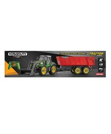 Ninco Heavy Duty Tractor With Remote Control Trailer - Multi Color