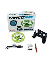 Ninco Air Ovni Remote Control Drone - Green