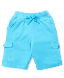 KiddoPanti Cargo Shorts - Light Blue